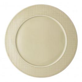 Rosenthal Mesh Cream Teller flach - Fahne 32 cm