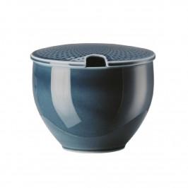Rosenthal Junto Ocean Blue - Porzellan Zuckerdose 0,28 L