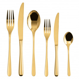 Sambonet Taste - Edelstahl / PVD Gold Besteckset 36-tlg.