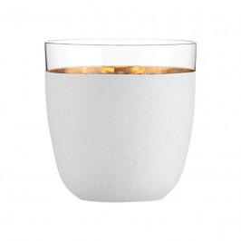 Eisch Cosmo weiß gold Becher Champagner 390 ml / 91 mm