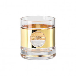 Rosenthal Versace Medusa Madness Oro - Bar Whisky Old-Fashioned Glas 0,29 L / h: 9 cm