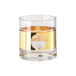 Rosenthal Versace Medusa Madness Oro - Bar Whisky Double Old-Fashioned Glas 0,40 L / h: 9,4 cm