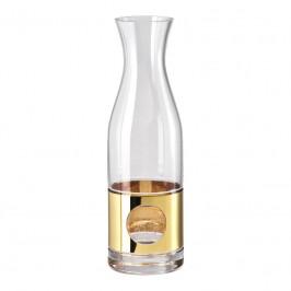 Rosenthal Versace Medusa Madness Oro - Bar Wasserdekanter Glas 0,90 L / h: 28 cm