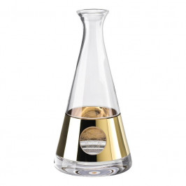 Rosenthal Versace Medusa Madness Oro - Bar Weindekanter Glas 1,00 L / h: 27 cm