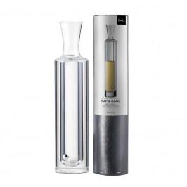 Eisch Gläser Specials Kühldekanter mit Untersetzer 'Rapid Cool' 0,375 L / 40 cm