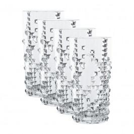 Nachtmann Punk Longdrink Glas Set 4-tlg. 390 ml / h: 151 mm