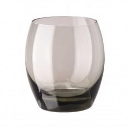 Rosenthal Versace Medusa Lumiere Haze Whiskybecher Glas grau h: 100 mm / 380 ml Set 2-tlg.