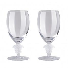 Rosenthal Versace Medusa Lumiere Weißwein Glas h: 156 mm / 333 ml