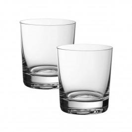 Villeroy & Boch Purismo Bar Becher klein Glas Set 2-tlg. h: 95 mm / 320 ml