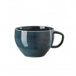 Rosenthal Junto Ocean Blue - Porzellan Cafe au Lait Obertasse 0,40 L