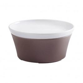 Kahla Magic Grip taupe - Kitchen Souffle-Form + Deckel 14 cm