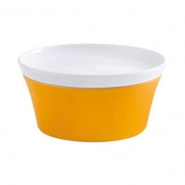 Kahla Magic Grip orange-gelb - Kitchen Souffle-Form + Deckel 14 cm