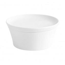 Kahla Magic Grip weiß - Kitchen Souffle-Form + Deckel 14 cm