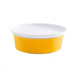 Kahla Magic Grip orange-gelb - Kitchen Auflaufform 20 cm + Deckel 21 cm