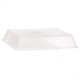 Arzberg Tric Kunststoffartikel transparent Cloche für Servierplatte rechteckig 15 x 20 cm
