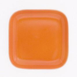 Kahla Abra Cadabra Innenfarbe Deckelchen eckig orange 10 x 10 cm