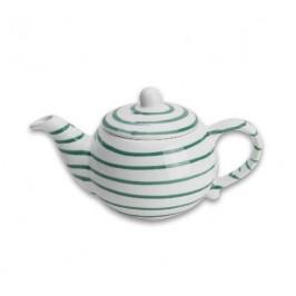Gmundner Keramik Grüngeflammt Teekanne glatt 0,5 L / h: 12 cm