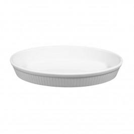 Seltmann Weiden Lukullus weiß Backform oval 24x15 cm / 0,63 L