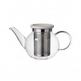 Villeroy & Boch Artesano Hot & Cold Beverages Teekanne Größe S mit Edelstahlsieb h: 12 cm / 0,5 L
