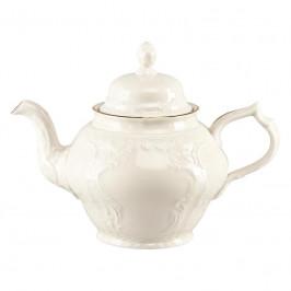 Rosenthal Sanssouci Elfenbein Gold Teekanne 12 Personen 1,25 L