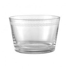 Rosenthal Versace Medusa Crystal Clear Dish crystal glass 22 cm
