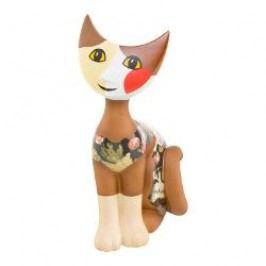 Goebel Rosina Wachtmeister - Rosinas Katzen Decorative figurine 'Cat Filomeno' h: 21.5 cm