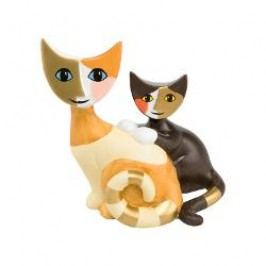 Goebel Rosina Wachtmeister - Minikatzen Decorative figurine little kitties 'Tullia e Rino' h: 7.5 cm