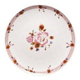 Hutschenreuther Lots of dots collection - Pink Plate 'Pink dots bouquet' 22 cm