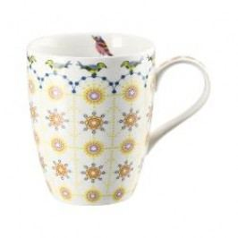 Hutschenreuther Lots of dots collection - Orange Cup with handle color: Orange rosette 0.30 l