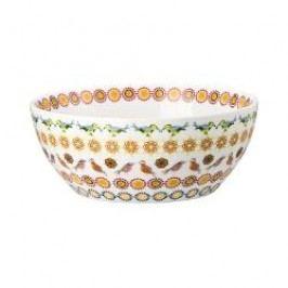 Hutschenreuther Lots of dots collection - Orange Muesli bowl color: orange ornament 15 cm / 0.50 l