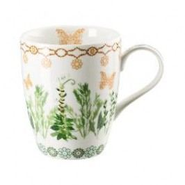Hutschenreuther Lots of dots collection - Green Cup with handle color: green spring 0.30 l