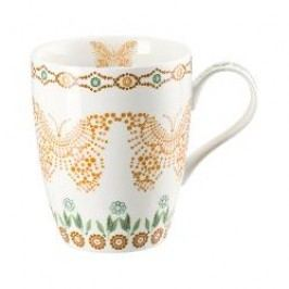 Hutschenreuther Lots of dots collection - Green Cup with handle color: green leave 0.30 l