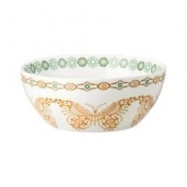 Hutschenreuther Lots of dots collection - Green Muesli bowl color: green leaf 15 cm / 0.50 l