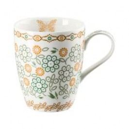 Hutschenreuther Lots of dots collection - Green Cup with handle color: green flower 0.30 l
