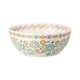 Hutschenreuther Lots of dots collection - Green Muesli bowl color: green flower 15 cm / 0.50 l