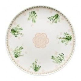 Hutschenreuther Lots of dots collection - Green Plate 'Green dots garden' 22 cm