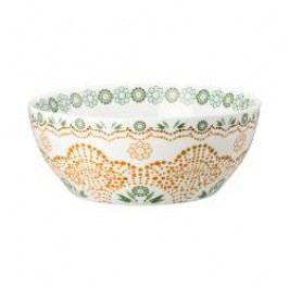 Hutschenreuther Lots of dots collection - Green Muesli bowl color: green blossom 15 cm / 0.50 l