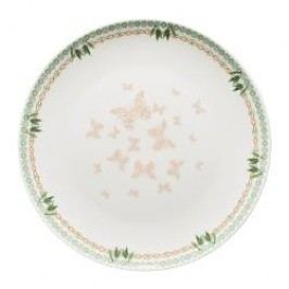 Hutschenreuther Lots of dots collection - Green Plate 'Green dots butterfly' 22 cm