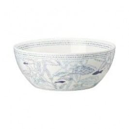 Hutschenreuther Lots of dots collection - Blue Muesli bowl color: blue ocean 15 cm / 0.50 l