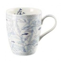 Hutschenreuther Lots of dots collection - Blue Cup with handle color: blue ocean 0.30 l