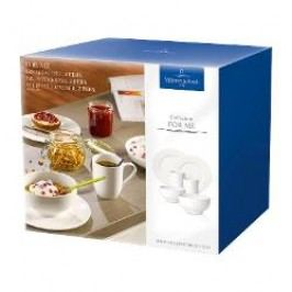 Villeroy & Boch For Me weiss Breakfast set for 2 persons