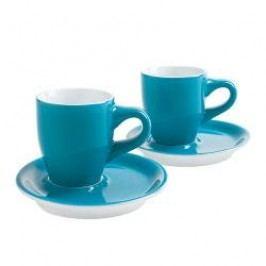 Kahla Café Sommelier Petrol Espresso Doppio Cups Set 4 pcs 0,05 L / h: 6,4 cm