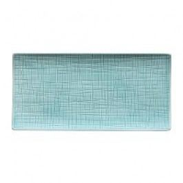 Rosenthal Selection Mesh Aqua Dish / platter 26 x 13 cm