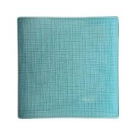 Rosenthal Selection Mesh Aqua Plate square flat 22 cm