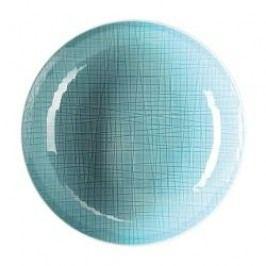 Rosenthal Selection Mesh Aqua Plate deep 21 cm