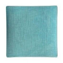 Rosenthal Selection Mesh Aqua Plate square flat 27 cm