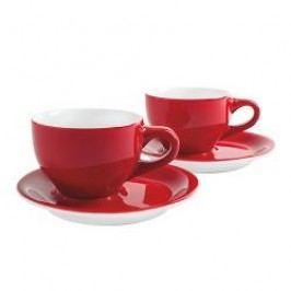 Kahla Café Sommelier Red Cappuccino International Cups Set 4 pcs 0,23 L / h: 6,9 cm