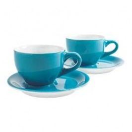 Kahla Café Sommelier Petrol Cappuccino International Cups Set 4 pcs 0,23 L / h: 6,9 cm