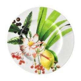 Rosenthal Selection Brillance Les Fruits du Jardin Bread / breakfast plate with rim or gravy boat saucer 19 cm