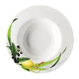 Rosenthal Selection Brillance Les Fruits du Jardin Soup plate with rims 23 cm